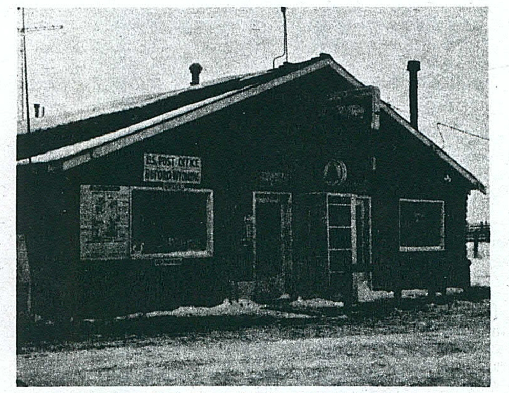 The Buford Post Office. Denver Post Empire Magazine, March 5th, 1978. Wyoming State Archives, Department of State Parks and Cultural Resources.