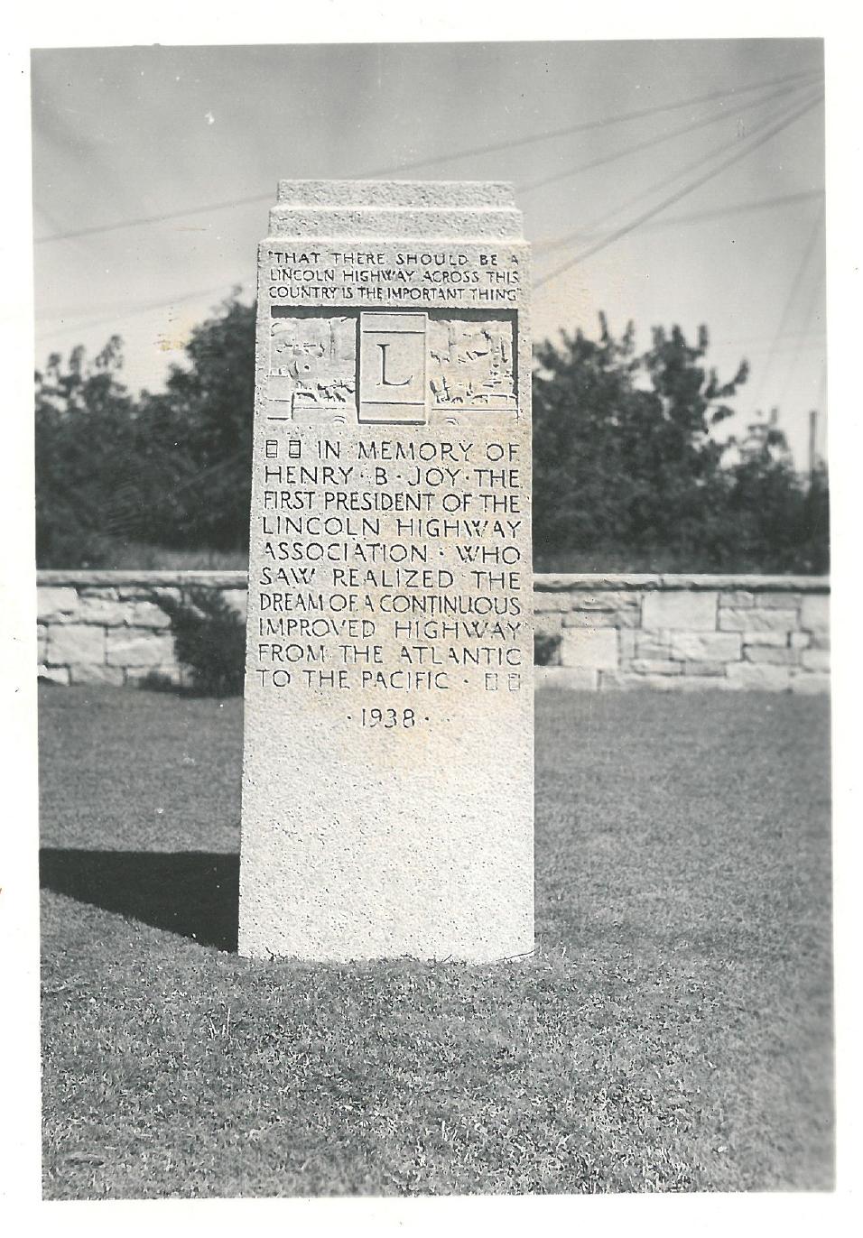 HBJ Monument